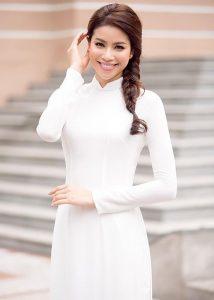 Áo dài Việt nam ngày càng hoàn thiện