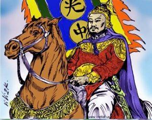 Nguyễn Huệchỉ huy quân đại quân đánh tan quân Thanh
